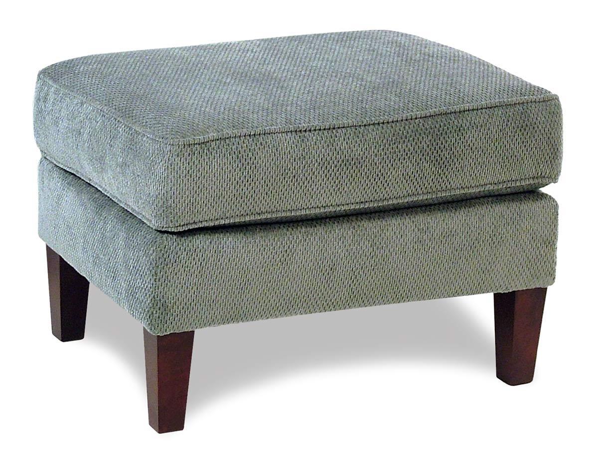 Broyhill Furniture Amanda  Transitional Ottoman w/ Tapered Legs - Item Number: 4252-5VIP-4255-32
