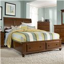Broyhill Furniture Hayden Place King Sleigh Bed with Storage Footboard - Item Number: 4648-274+277+470