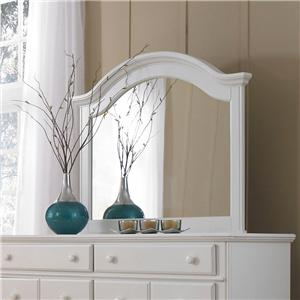 Broyhill Furniture Hayden Place Arched Dresser Mirror