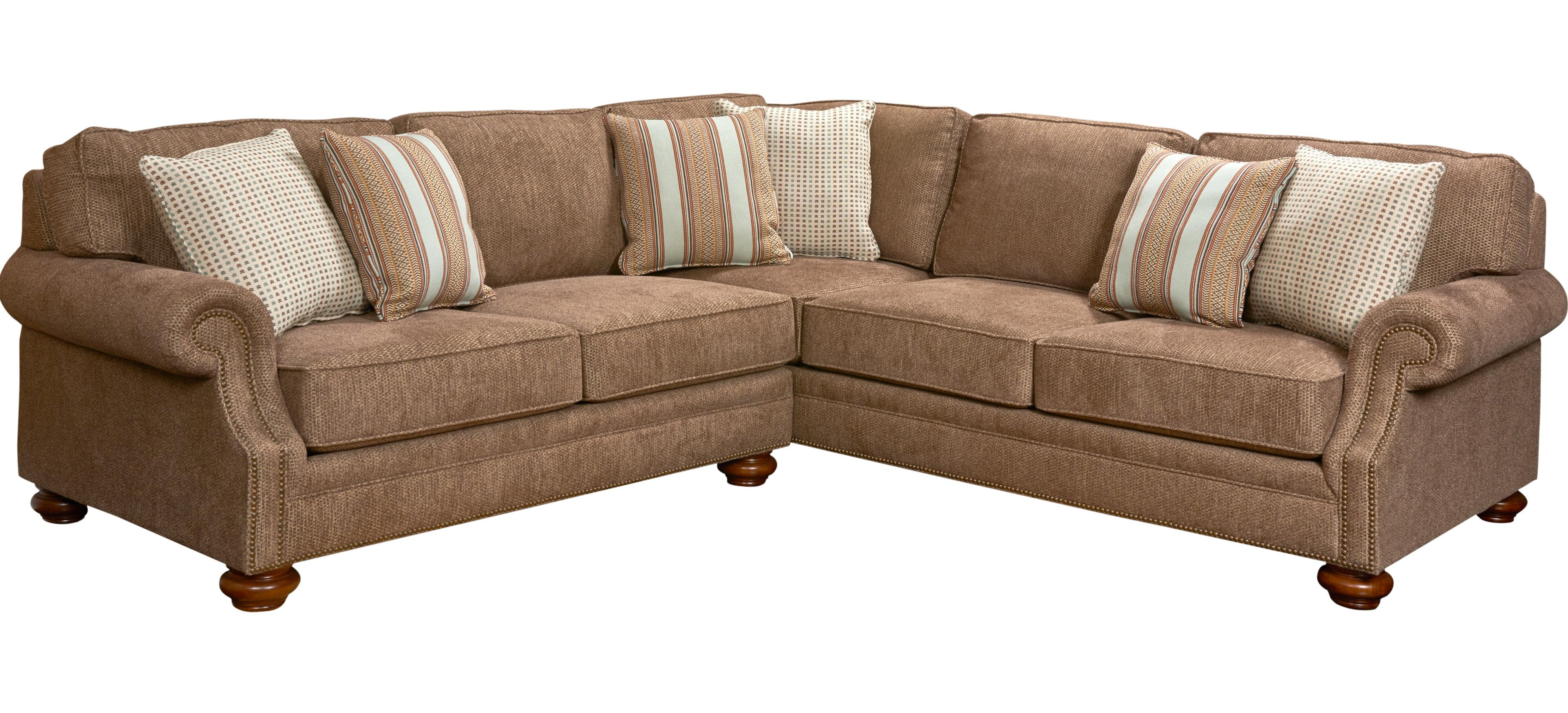 Broyhill Furniture Heuer Sectional Sofa - Item Number: 4261-2+3-4273-86