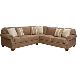 Broyhill Furniture Heuer Sectional Sofa  sc 1 st  Broyhill of Denver : sectional sofa denver - Sectionals, Sofas & Couches