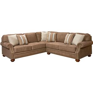 Broyhill Furniture Heuer Sectional Sofa