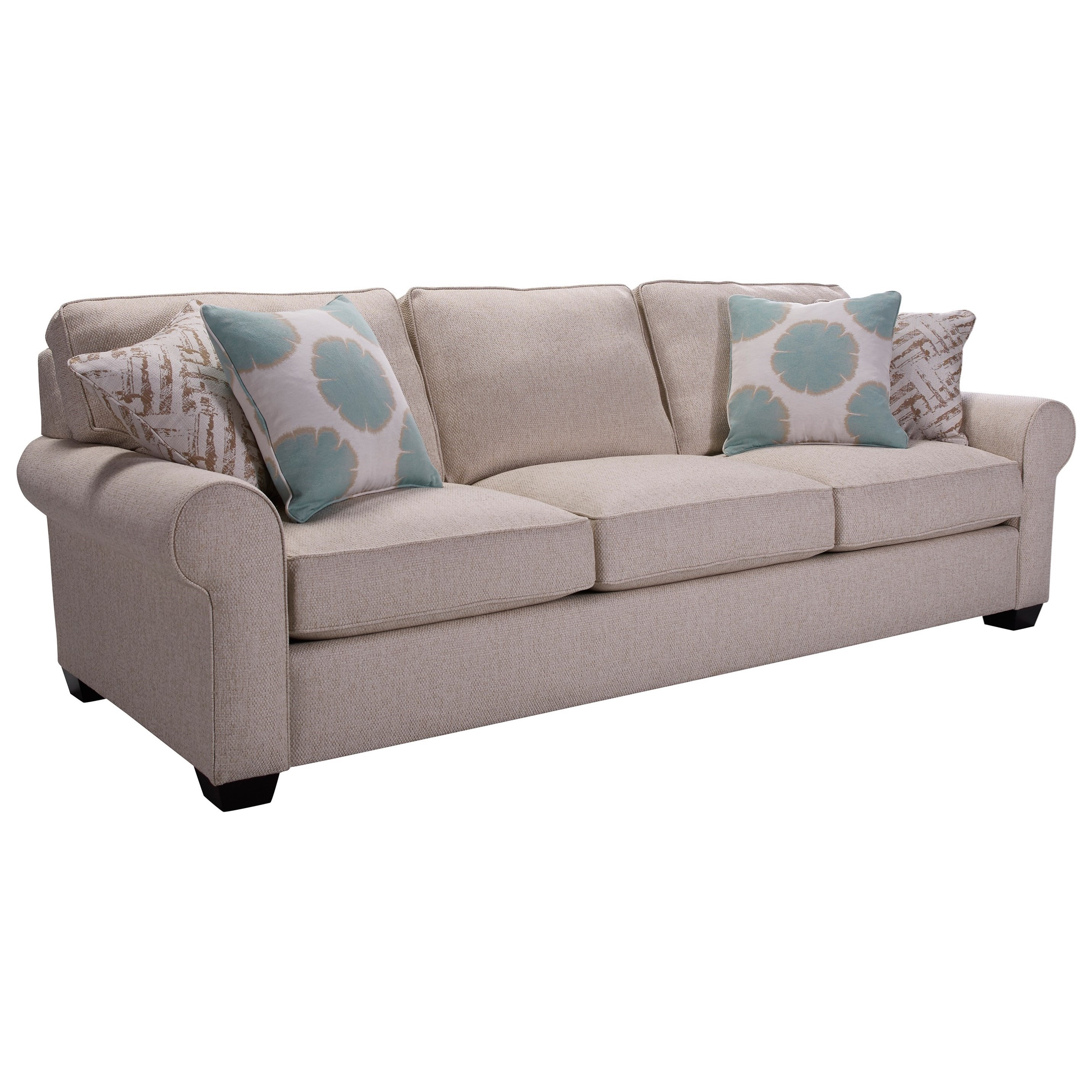 Broyhill Furniture Isadore Sofa - Item Number: 4272-3-4666-92