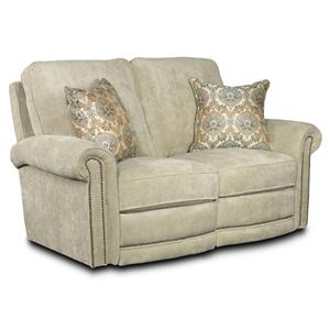 Lane Jasmine  Manual Reclining Loveseat
