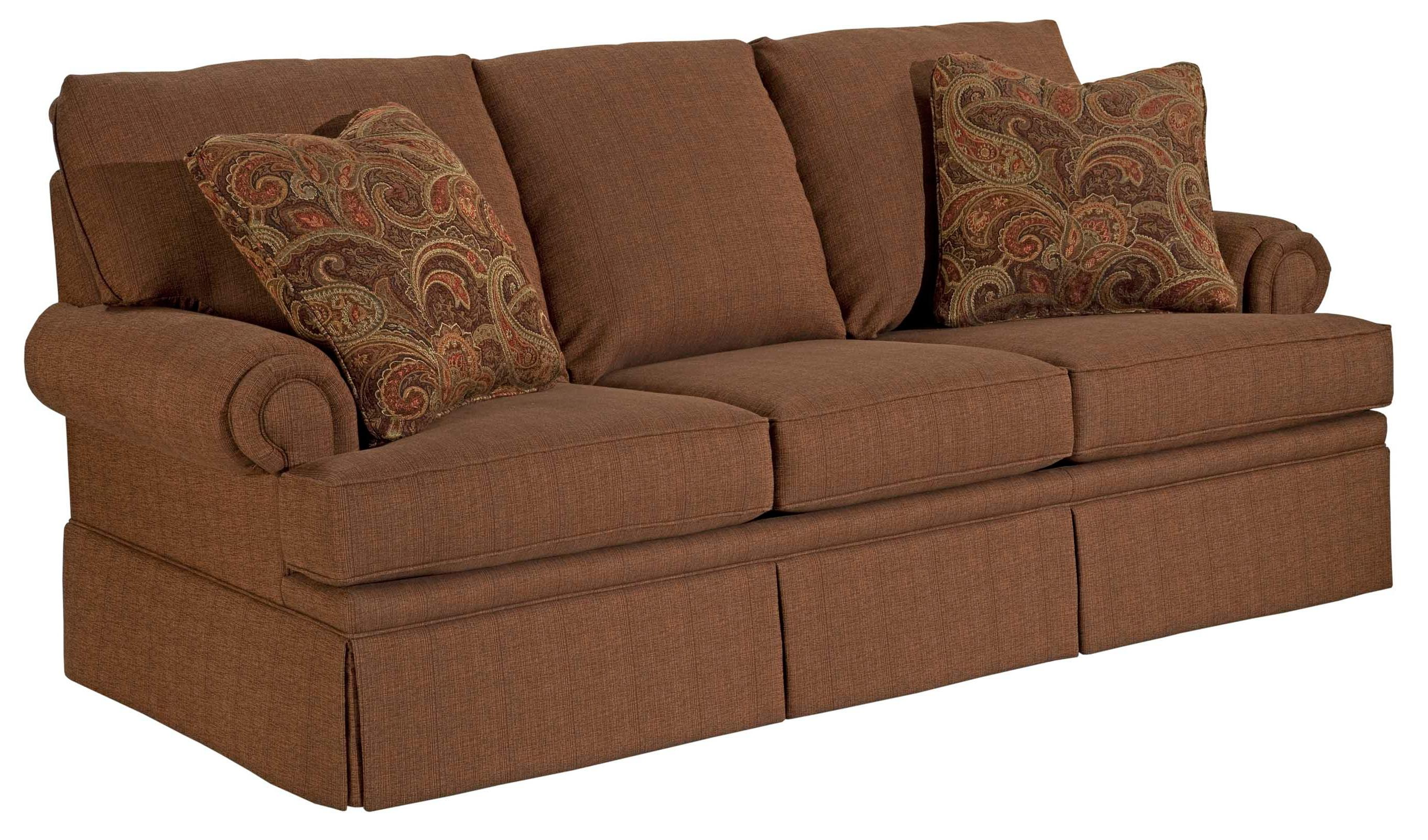 Broyhill Furniture Jenna Queen Air Dream Sofa Sleeper - Item Number: 4342-7A