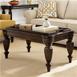 Broyhill Furniture Jessa Tray Cocktail Table