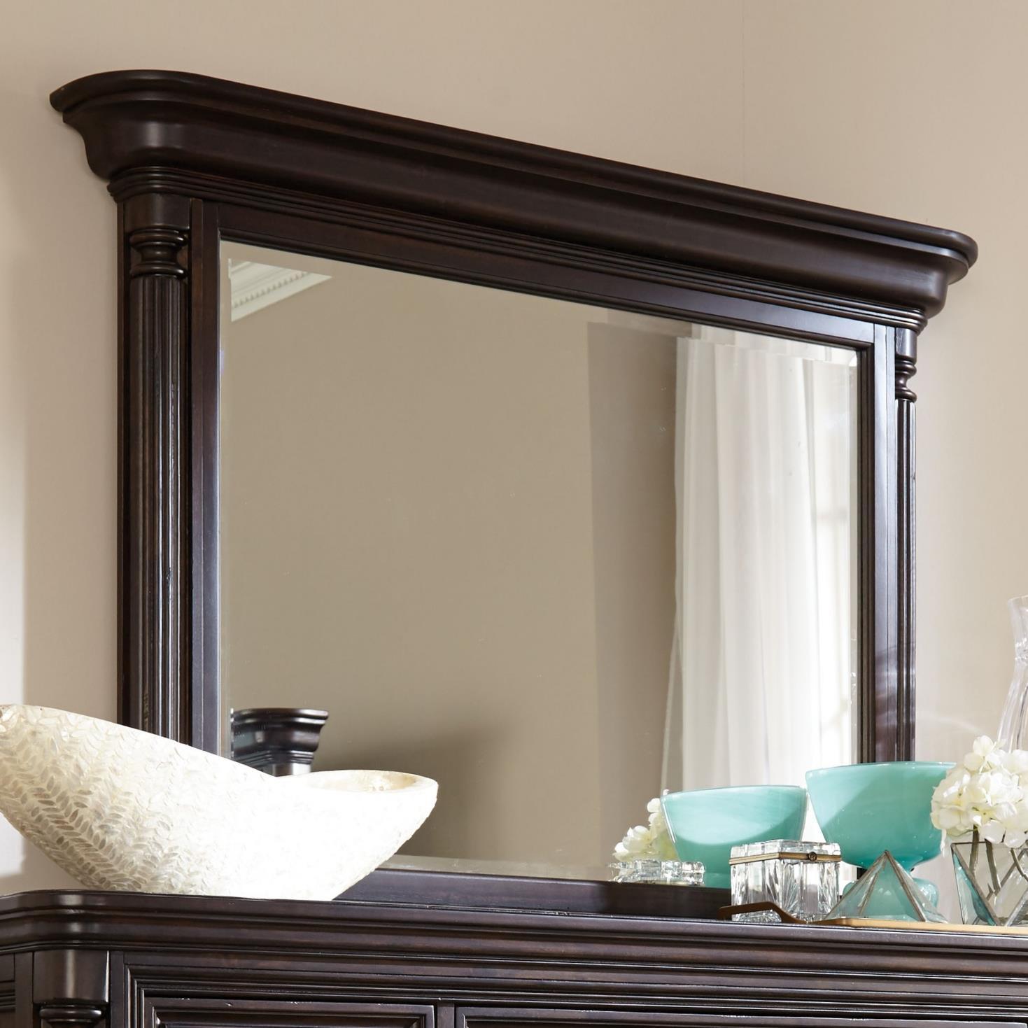 Broyhill Furniture Jessa Pillar Chesser Mirror - Item Number: 4980-236