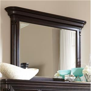 Broyhill Furniture Jessa Pillar Chesser Mirror