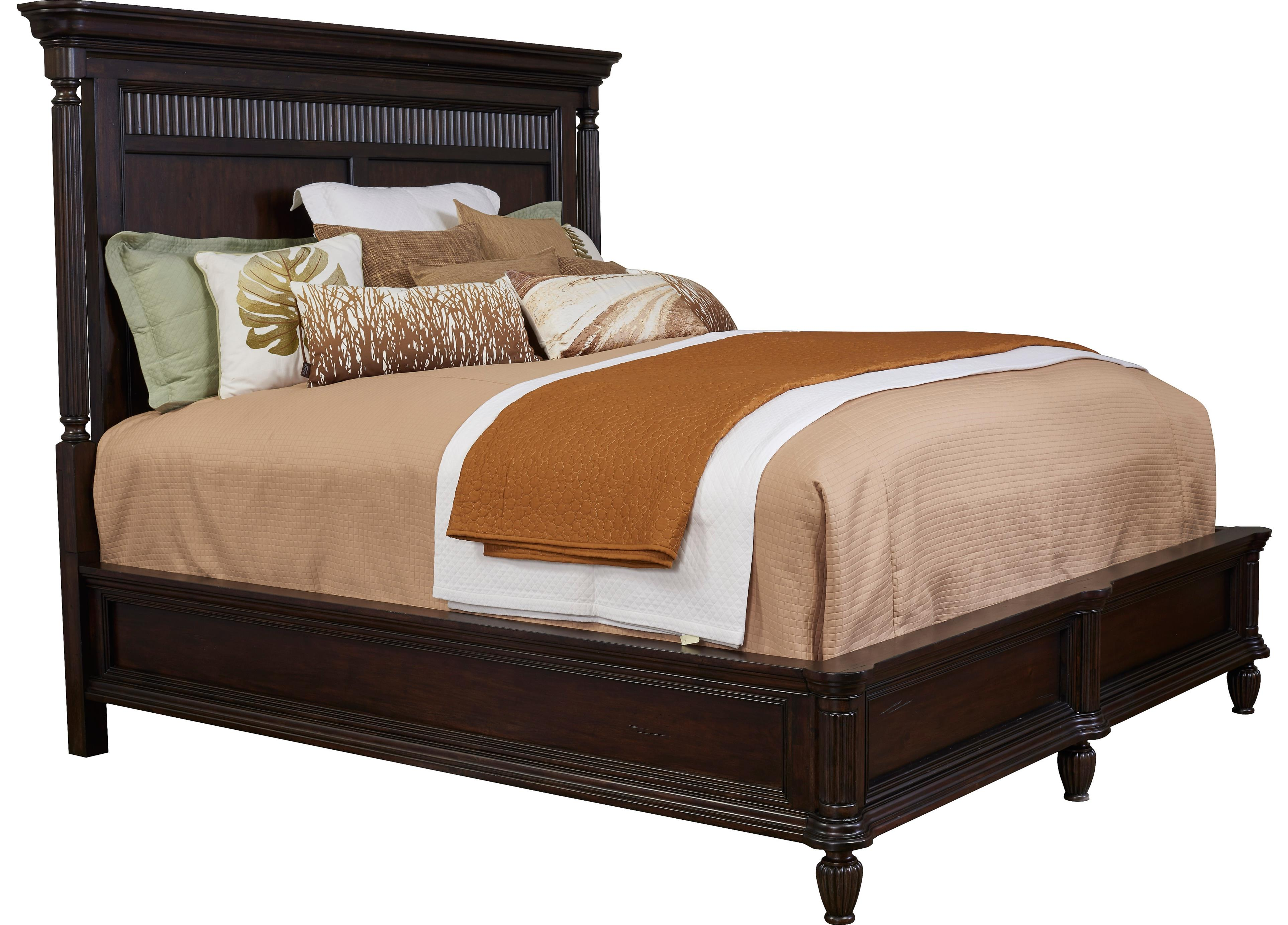 Broyhill Furniture Jessa California King Panel Bed - Item Number: 4980-258+259+455