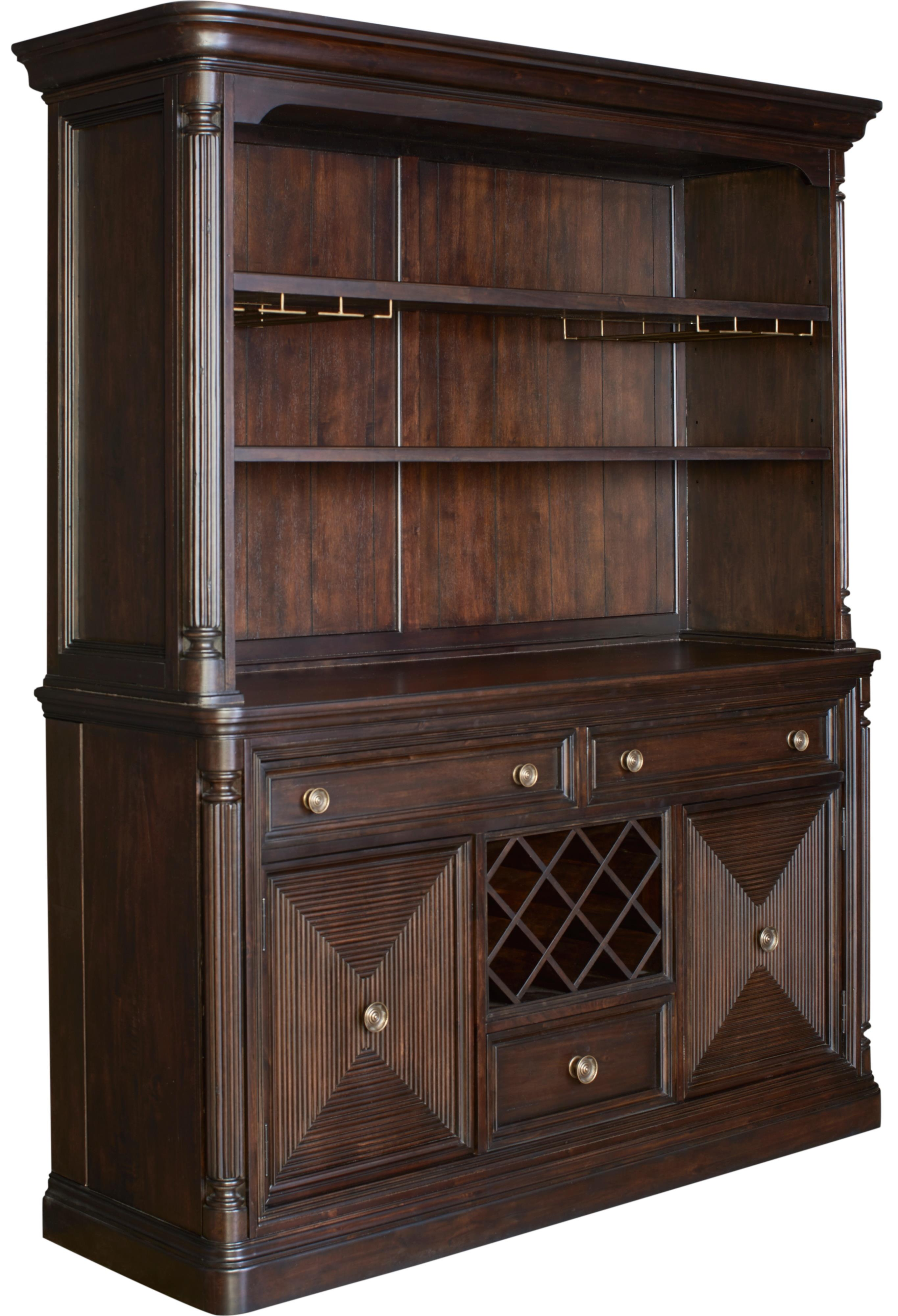 Broyhill Furniture Jessa Server and Hutch - Item Number: 4980-513+514