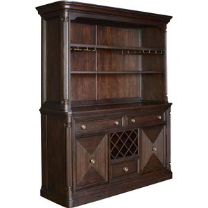 Broyhill Furniture Jessa Server and Hutch