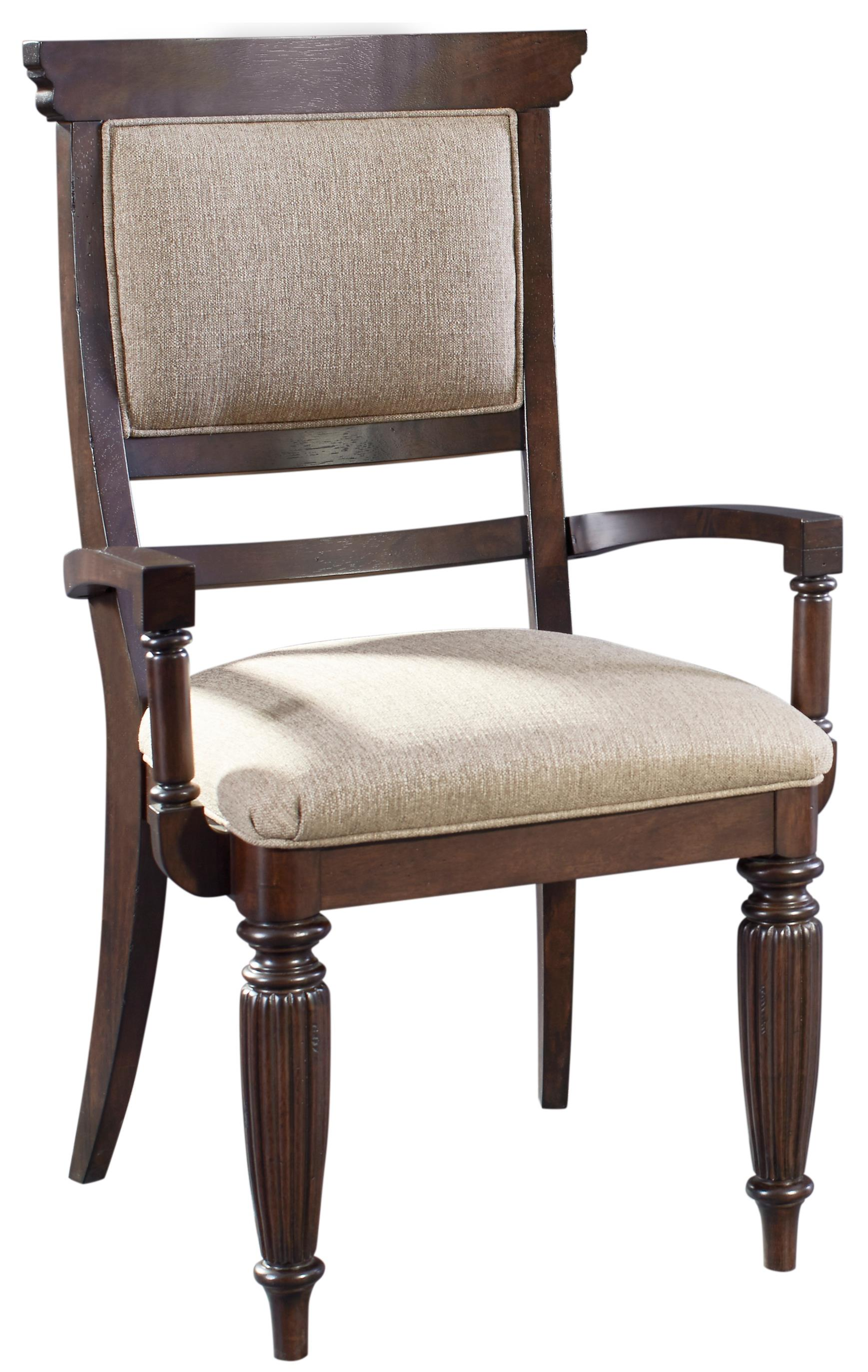 Broyhill Furniture Jessa Upholstered Seat and Back Arm Chair - Item Number: 4980-582