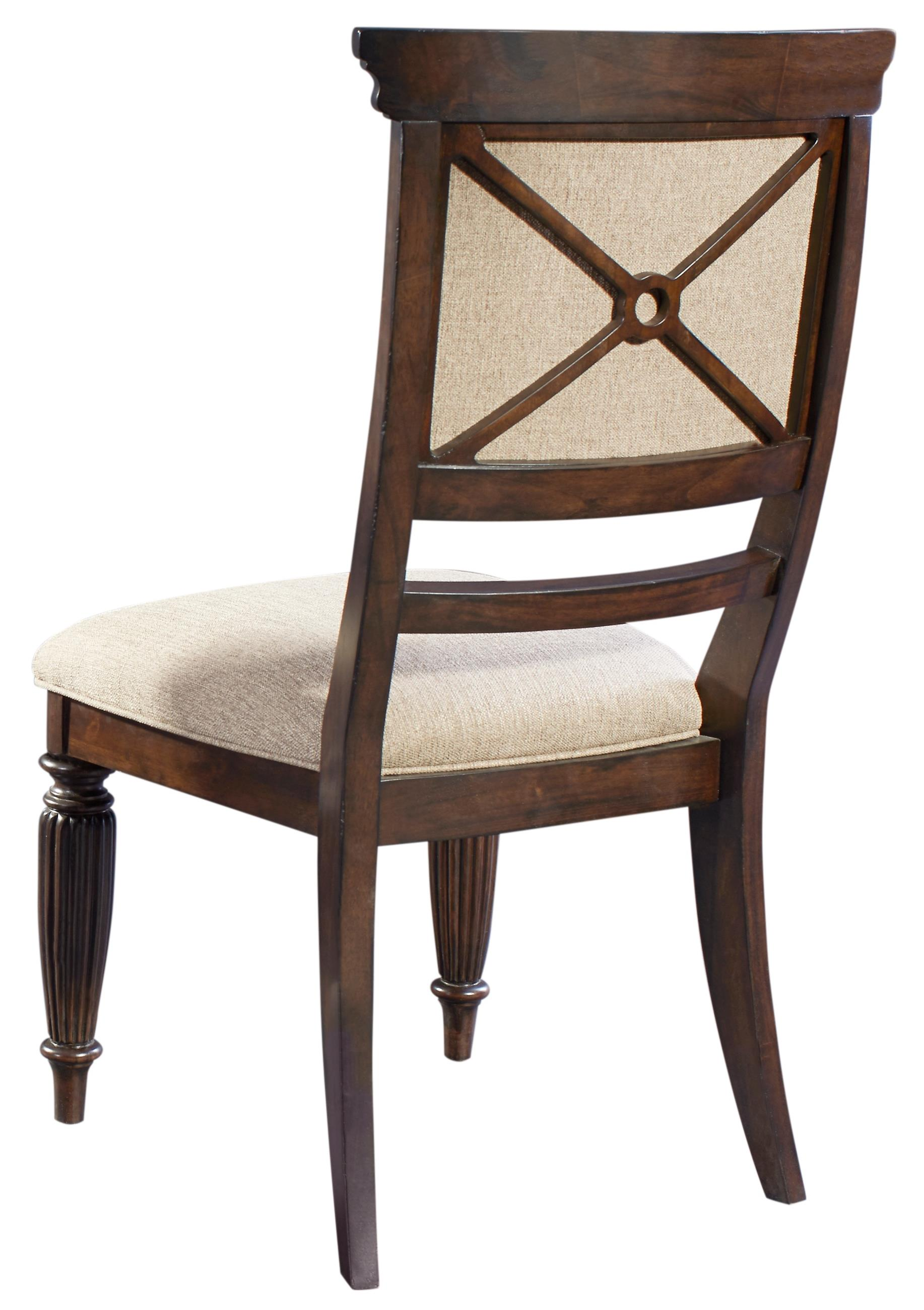 Broyhill Furniture Jessa Upholstered Seat and Back Side Chair - Item Number: 4980-583
