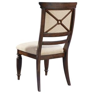 Broyhill Furniture Jessa Upholstered Seat and Back Side Chair