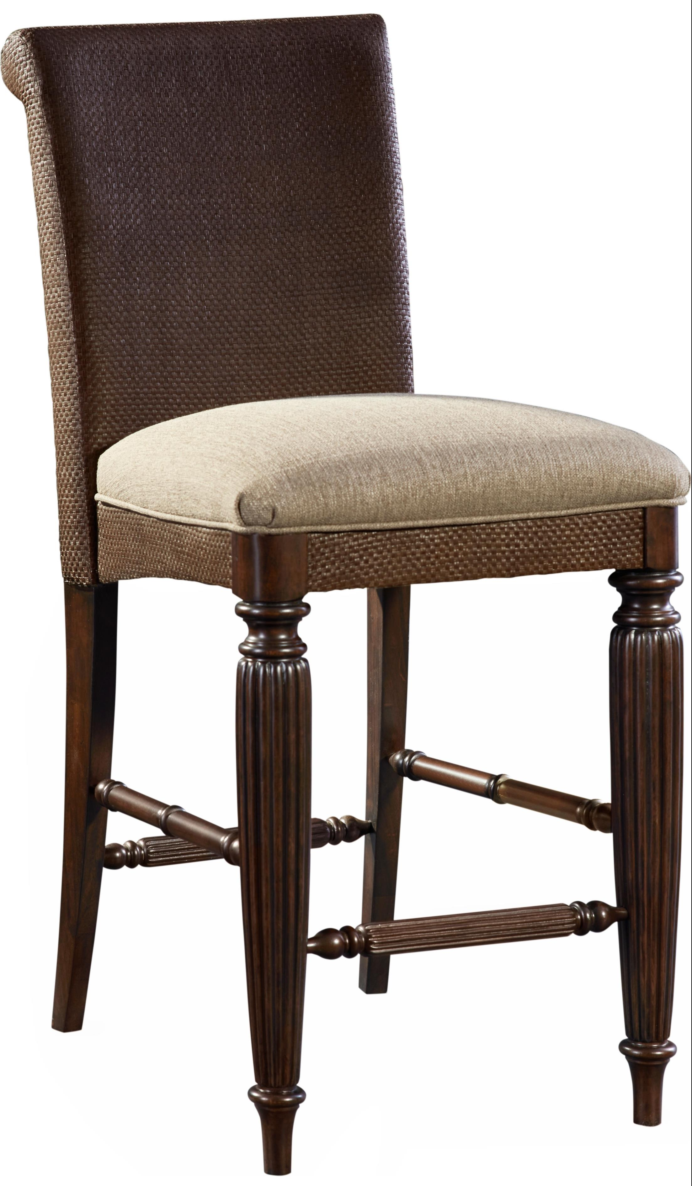 Broyhill Furniture Jessa Woven Upholstered Seat Counter Stool - Item Number: 4980-592