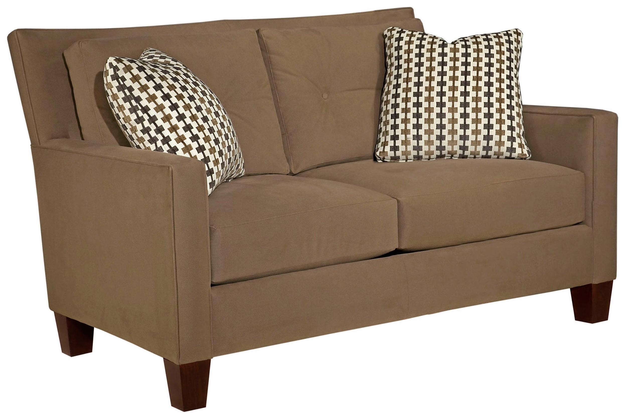 Broyhill Furniture Jevin Modern Loveseat - Item Number: 6018-1
