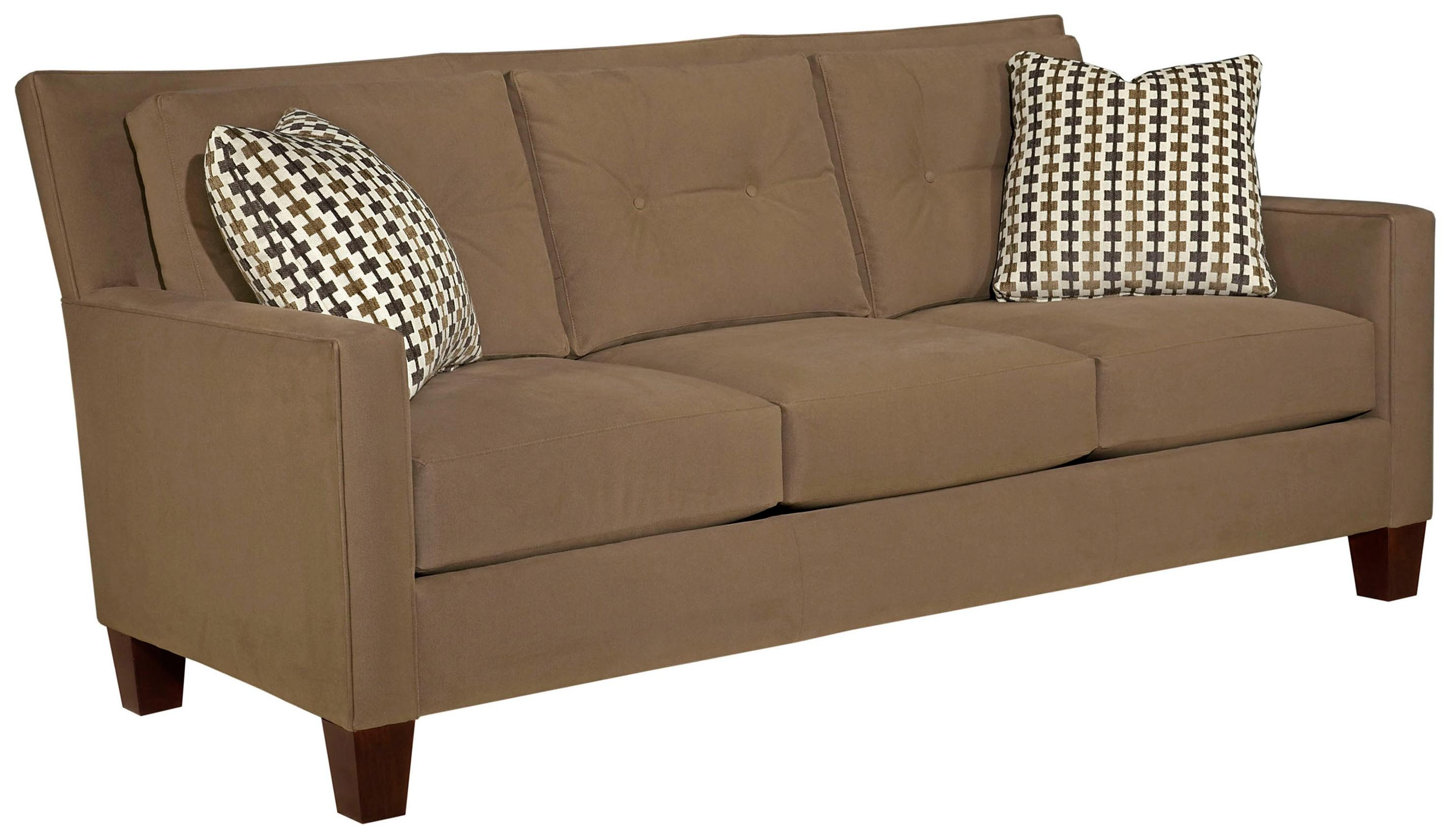 Broyhill Furniture Jevin Contemporary Sofa  - Item Number: 6018-3