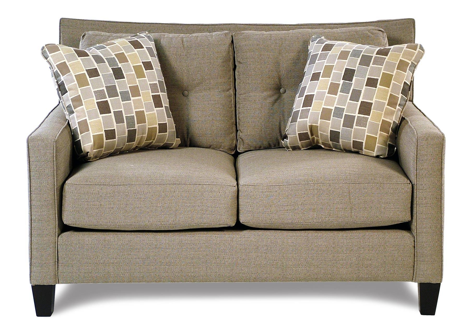 Broyhill Furniture Stonehill Modern Tufted Loveseat - Item Number: S6018-1-8319-0000