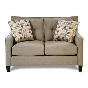 Broyhill Furniture Stonehill Modern Tufted Loveseat