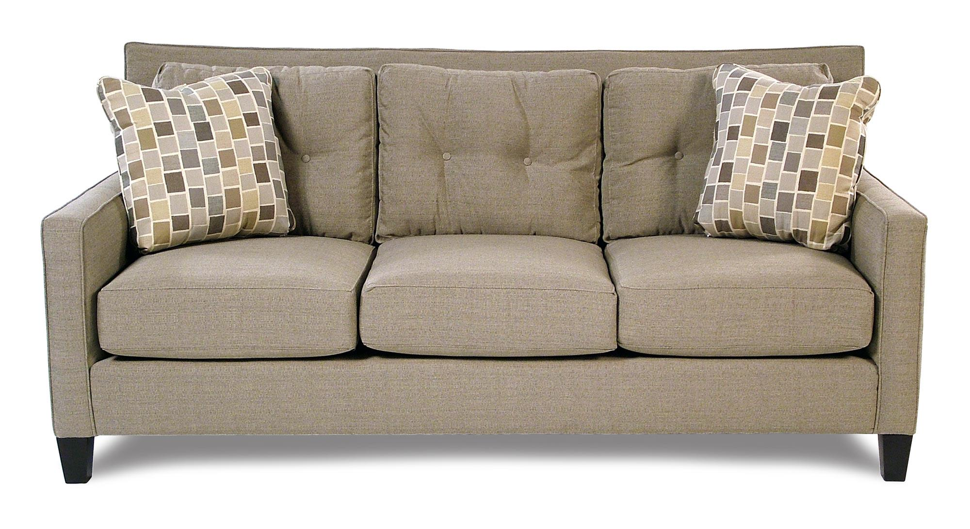 Broyhill Furniture Stonehill Contemporary Sofa w/ Tufted Back - Item Number: S6018-3-8319-0000