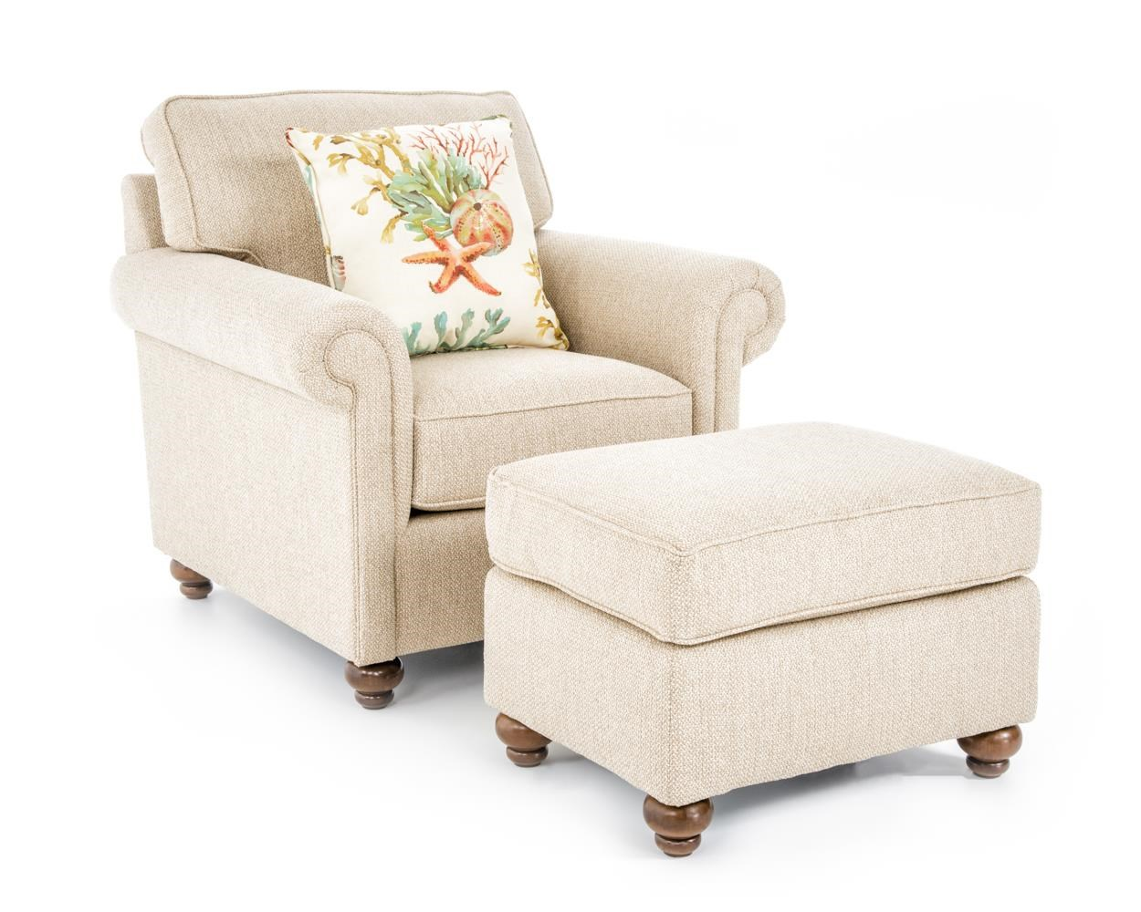 Broyhill Furniture Judd Chair & Ottoman Set - Item Number: 4262-0+4262-5 4189-82
