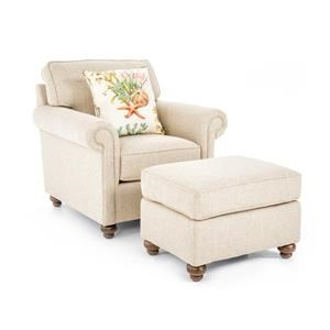 Broyhill Furniture Judd Chair & Ottoman Set