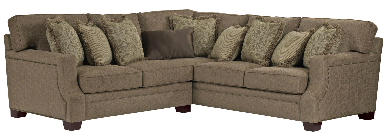 Broyhill Furniture Kayley 2 Piece Corner Sectional AHFA Sofa