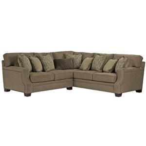 Broyhill Furniture Kayley Corner Sectional