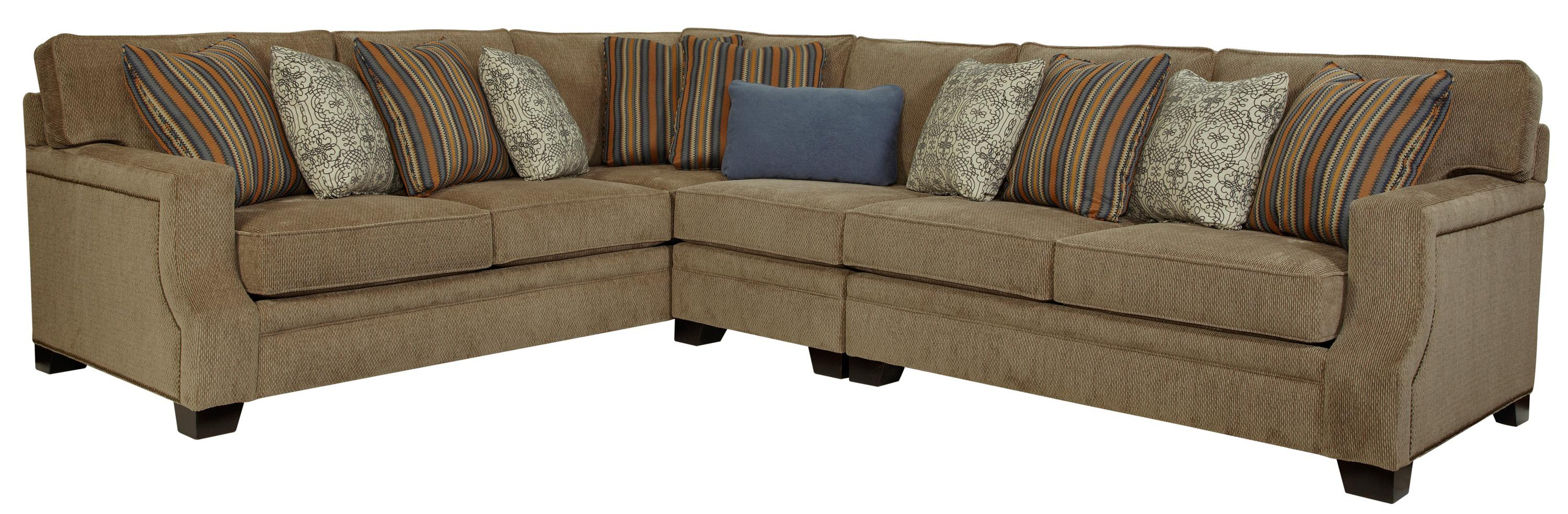 High Quality Broyhill Furniture Kayley 3 Piece Right Facing Sectional   AHFA   Sofa  Sectional Dealer Locator