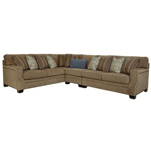 Broyhill Furniture Kayley Right Facing Sectional