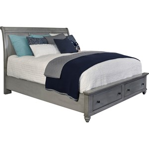 Broyhill Furniture Kearsley Queen Sleigh Storage Bed