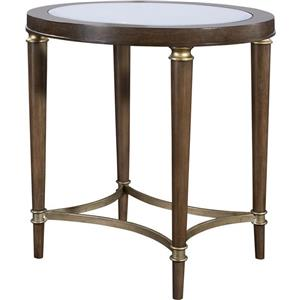Broyhill Furniture Kirsten Oval Lamp Table