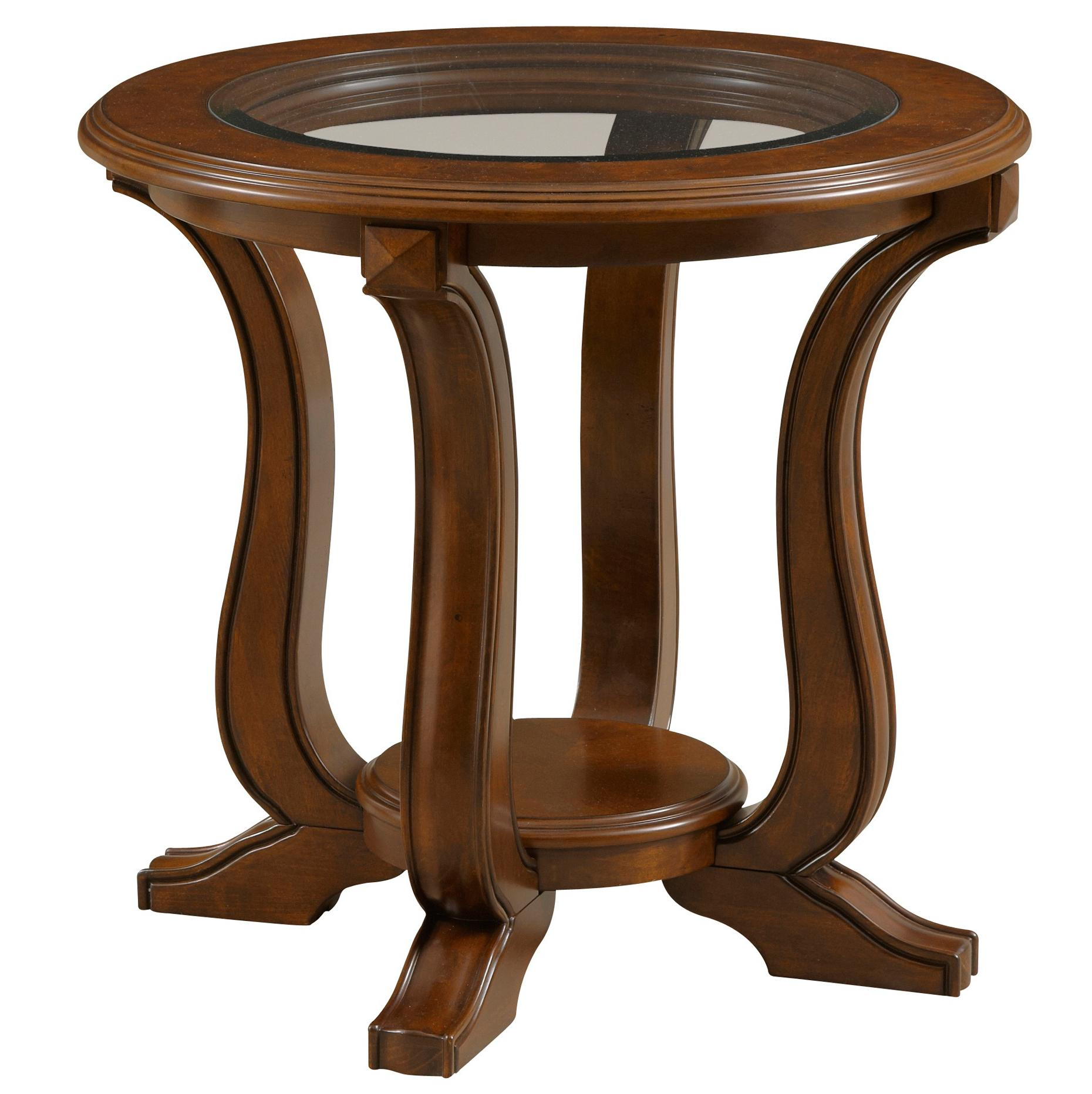 Broyhill Furniture Lana Round End Table - Item Number: 3459-002