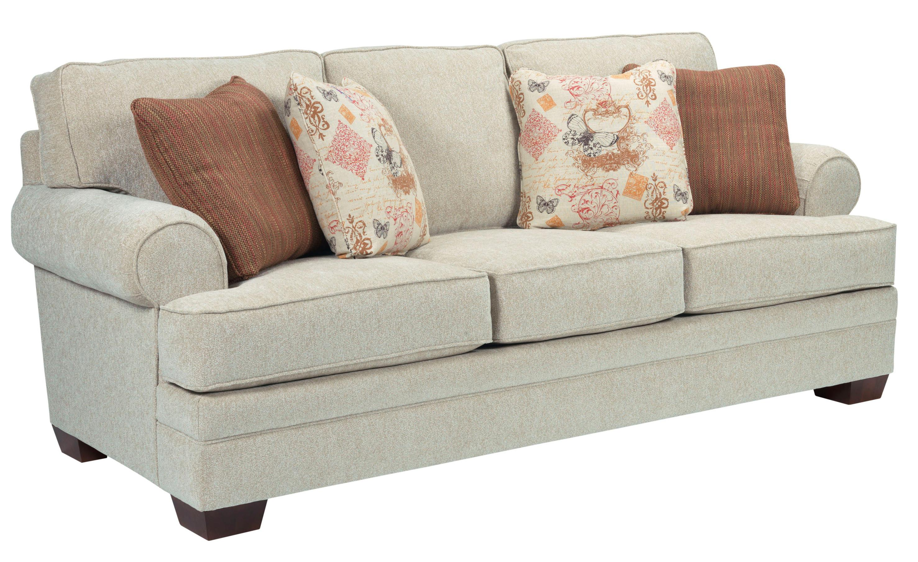 Broyhill Furniture Landon Transitional Stationary Sofa - Item Number: 6608-3