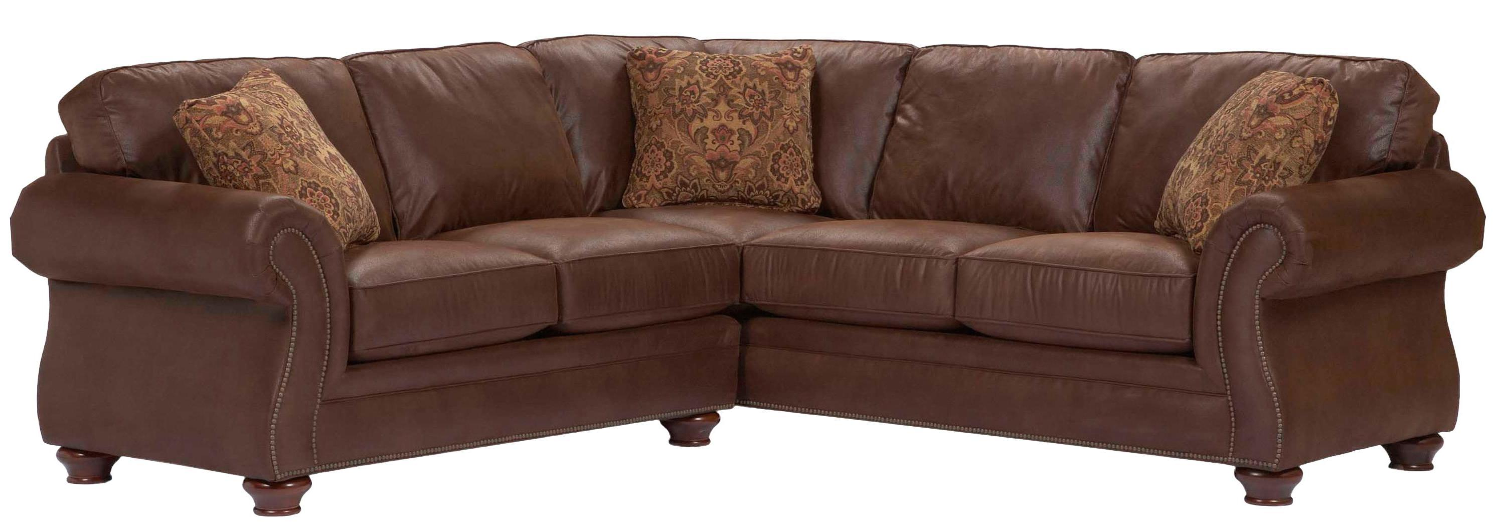 Broyhill Furniture Laramie Sectional Sofa - Item Number: 5080-2+3