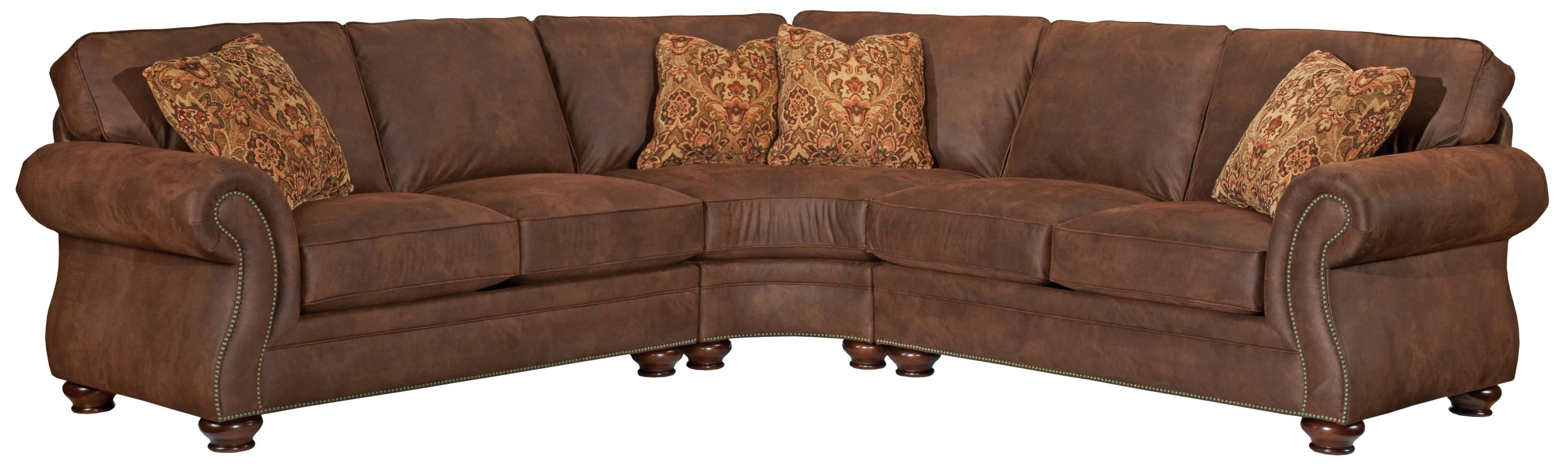 Great Broyhill Furniture Laramie 3 Piece Sectional Sofa   Item Number: 5080 2+8