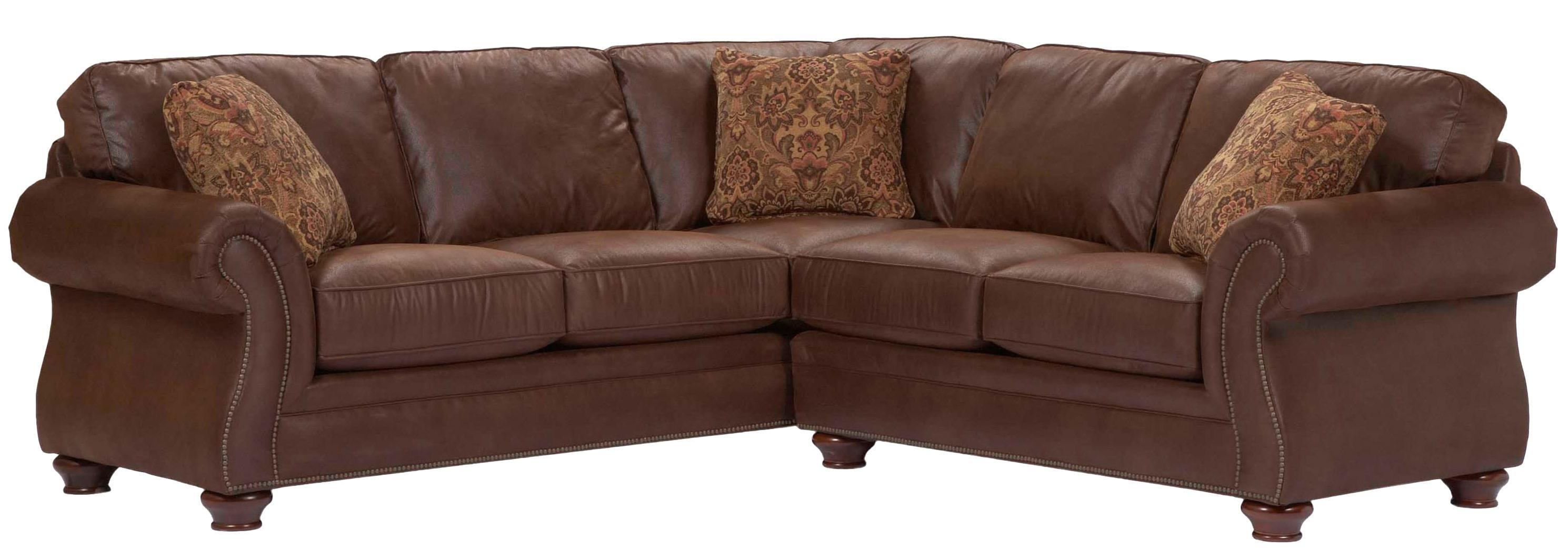 Broyhill Furniture Laramie Sectional Sofa - Item Number: 5080-4+1