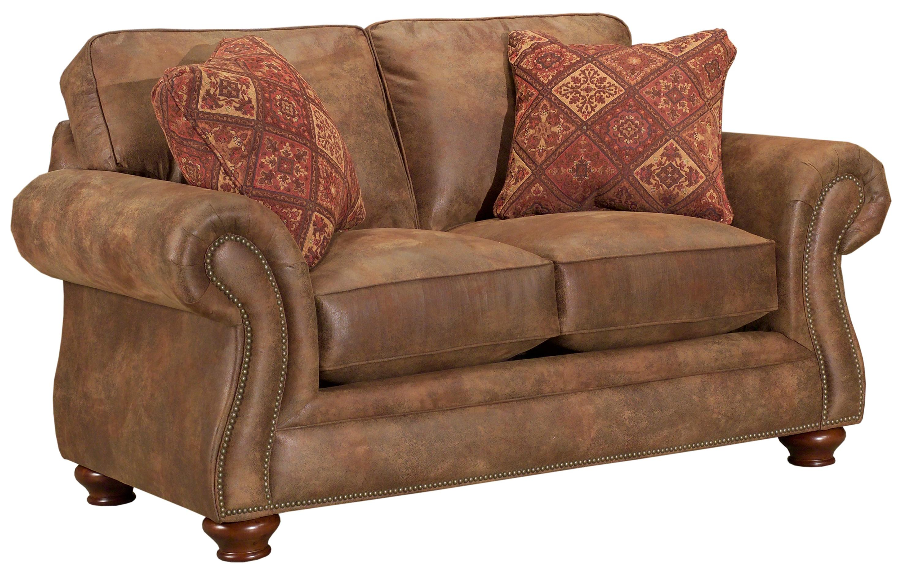 Bon Broyhill Furniture Laramie Loveseat   Item Number: 5081 1