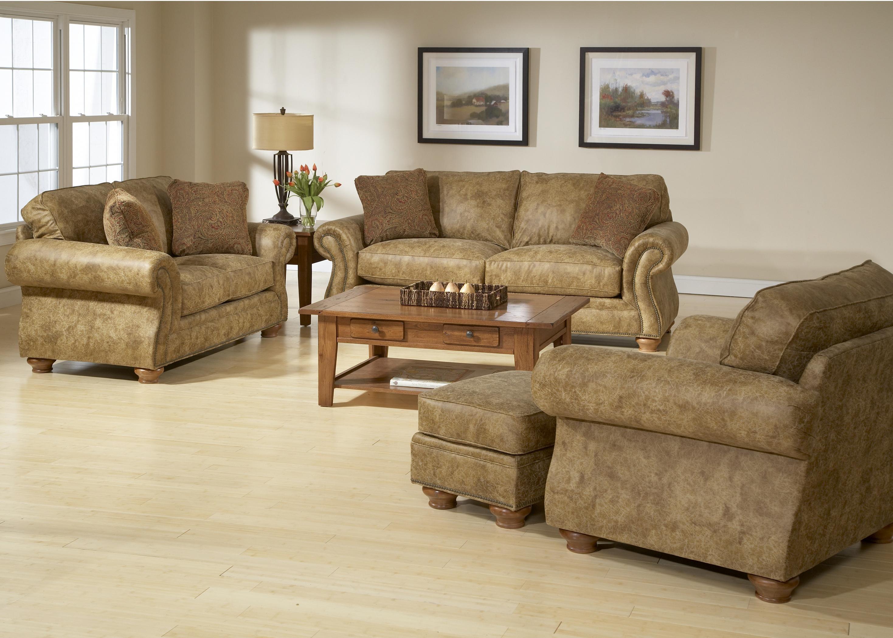 Broyhill Furniture Laramie 5081 7a Air Dream Sofa Sleeper With Nail Head Trim Baer 39 S Furniture