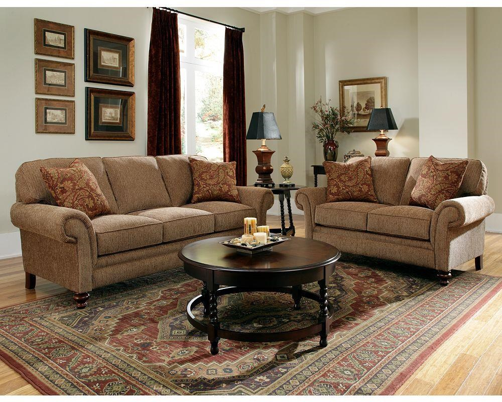 Bon Broyhill Furniture Larissa Sofa U0026 Loveseat Group   Item Number: 2379768