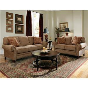 Broyhill Furniture Larissa Sofa & Loveseat Group