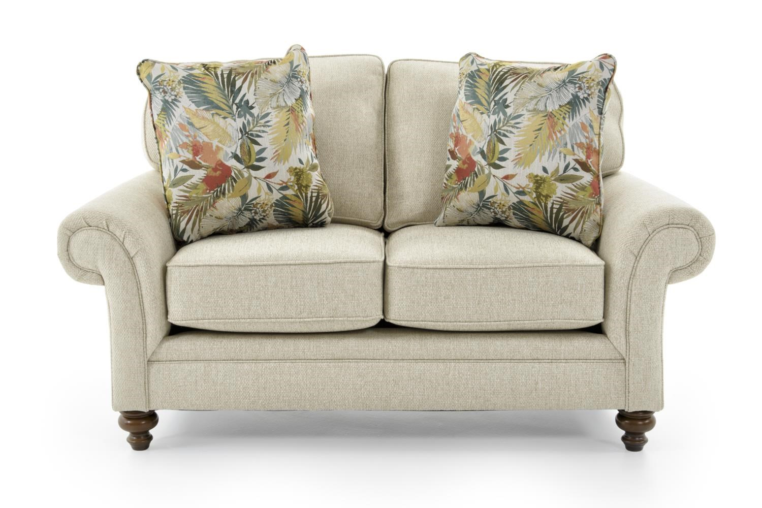 Broyhill Furniture Larissa Upholstered Love Seat - Item Number: 6112-1 4666-92
