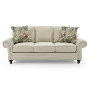 Broyhill Furniture Jevin 6018 3 Contemporary Sofa With Tufted