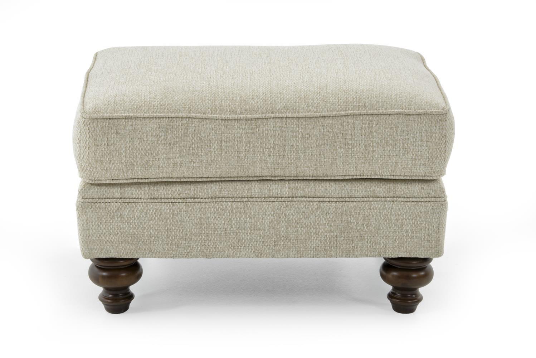 Broyhill Furniture Larissa Upholstered Ottoman - Item Number: 6112-5 4666-92