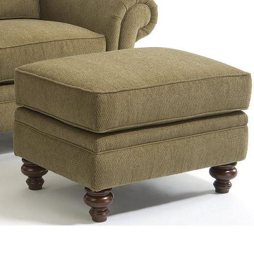 Broyhill Furniture Larissa Upholstered Ottoman - Item Number: 6112-5-7902-26