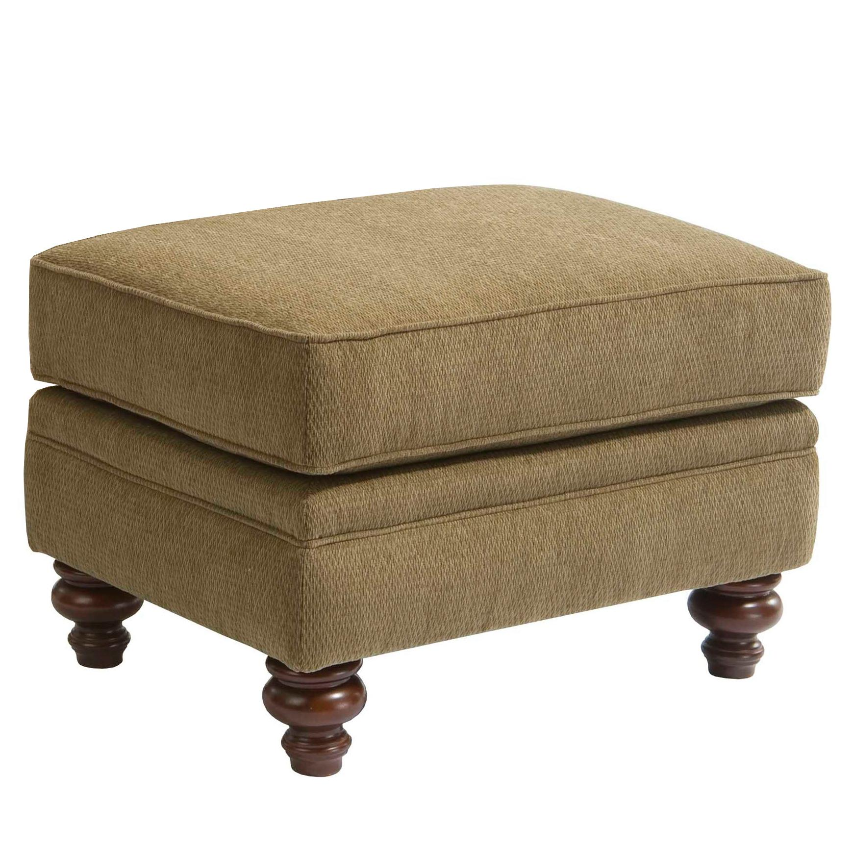 Broyhill Furniture Larissa Upholstered Ottoman - Item Number: 6112-5