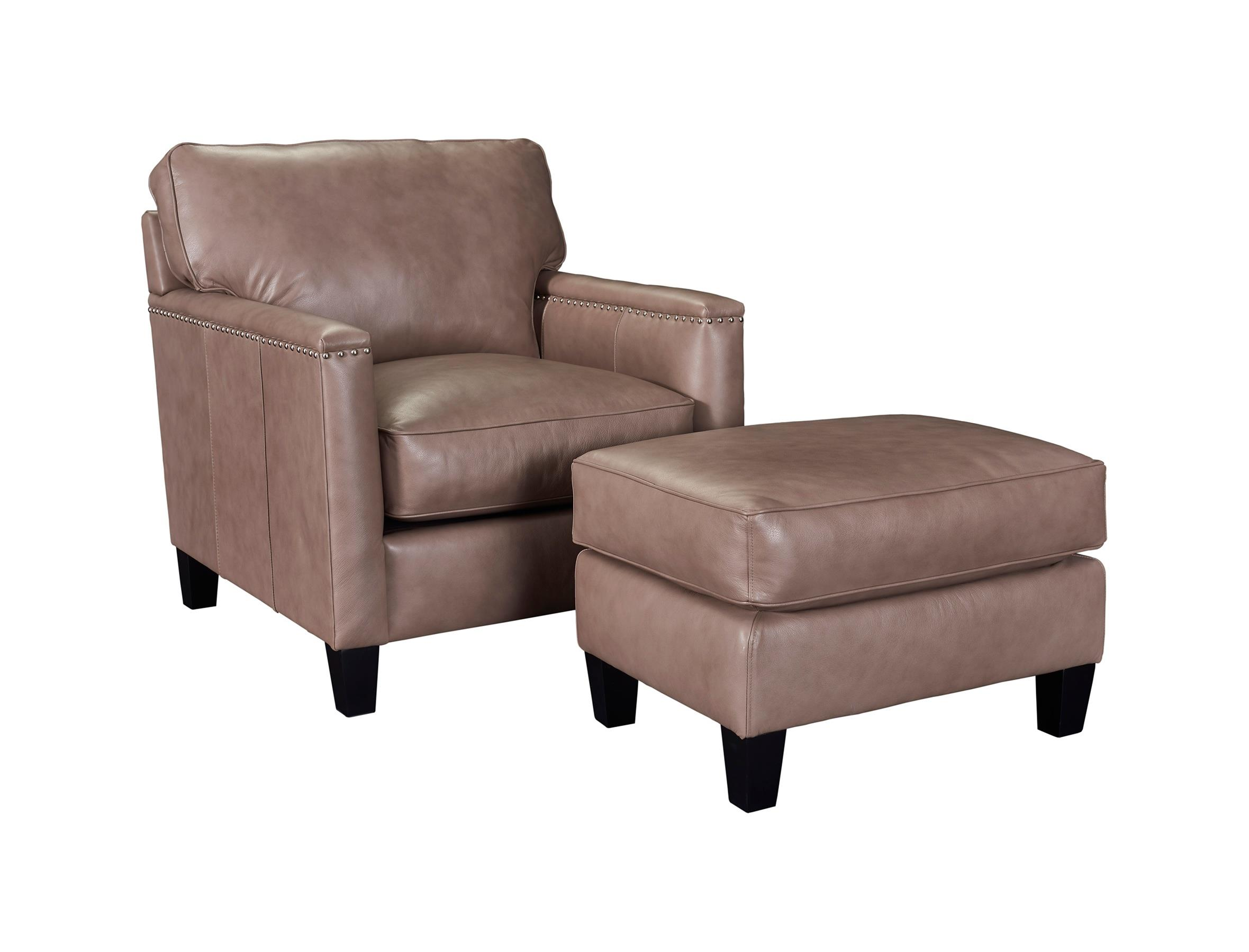 Broyhill Furniture Lawson Chair and Ottoman Set - Item Number: L4254-0+5-0017-83