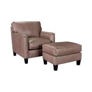Broyhill Furniture Lawson Chair and Ottoman Set