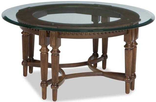 Broyhill Furniture Lyla Round Cocktail Table - Item Number: 4912-003