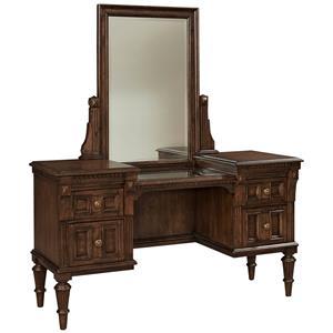 Broyhill Furniture Lyla Vanity and Mirror Set